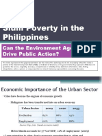 Addressing Slum Poverty in the Philippines