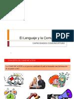 El Lenguaje y La Comunicación