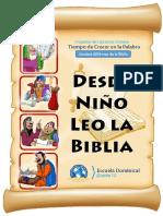 Lecciones Mes de la Biblia