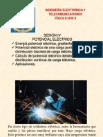 Sesion IV Potencial Electrico