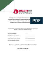 tesis sobre gestión empresarial