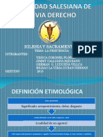 Universidad Salesiana de Bolivia Sacramento de La Penitencia