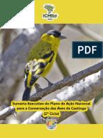 sumariopan-aves da caatinga