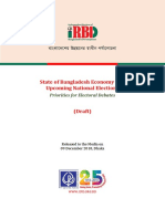 IRBD Paper State of Bangladesh Economy and Upcoming National Elections