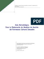 Guia Metodologica Para La Gestion de Modelos