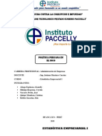 Informe Estadístico de La Política Del Perú (1)