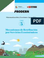 mecanismos de retribucion de servicios ecosistemicos