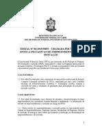 Edital 06 2019 UFCA Empreendedorismo Inovacao