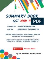 GST Summary Book- By CA Yachana Mutha Bhurat - Nov 19.pdf
