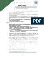 Examen Programación y Control de Obras