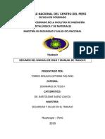 Resumen Manual Oslo y Frascati