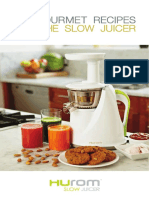 Brochure Hurom 100 Recipes