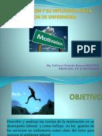 LA MOTIVACION Y SU INFLUENCIA