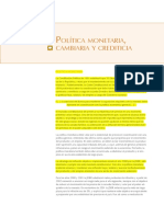 politic monetarista