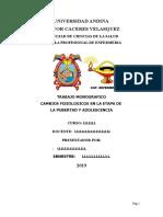 CAMBIOS FISIOLOGICOS EN LA ETAPA DE PUBERTAD Y ADOLESCENCIA.doc