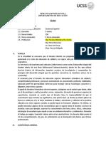 DocenciaSuperior - Formación Por Competencias TEMARIO
