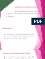 Diapositivas de Ventajas Competitivas