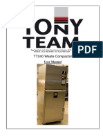 COMPACTOR Tony Team User Manual TT240 v2
