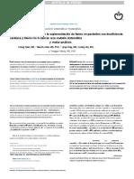 Eficacia y seguridad de la suplementación de hierro en pacientes con insuficiencia cardiaca y Hierro