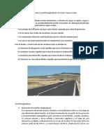 Eje de Carretera Perfil Longitudinal Secciones Transversales