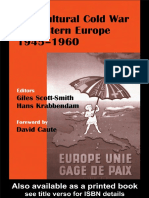 Scott-Smith (ed) - The Cultural Cold War in Western Europe (1945-60)