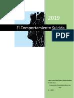 El Comportamiento Suicida