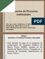 Evaluacion  Proyectos Ambientales  parte 1