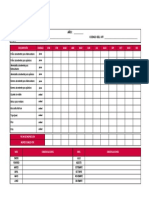Check List Kit Para Derrames Menores