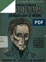 Bolivar, Pintado Por Si Mismo