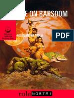 Barsoom Book for OSR Games