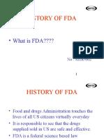 History of FDA(02)