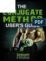 The Conjugate Method Users Guide