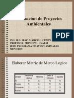 Evaluacio Proyectos Ambientales 2da parte