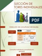 Selección de Consultores Individuales