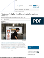 'Sueño Rojo' El 'Plan b' de Huawei Contra Las Sanciones de EE UU Tecnología E