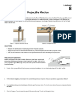 Projectile Motion Prelab