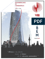 Programa Cibem 2017 Madrid