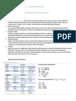 Taller 2 - Actividad 2 - Ejercicios de Cambio de Fases
