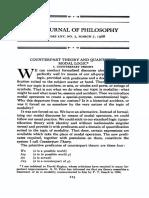 Counterpart Quantified