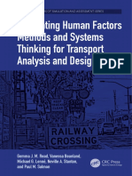 (the Human Factors of Simulation and Assessment Series) Gemma J. M. Read, Vanessa Beanland, Michael G. Lenné, Neville a. Stanton, Paul M. Salmon - Integrating Human Factors Methods and Systems Thinkin