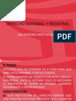 8. Los Poderes Ante Notario