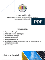 Energía mecanica
