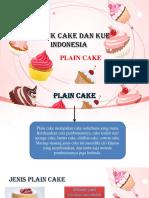 Kd 13 Plain Cake Ppt
