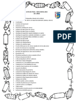 Listas de Útiles Escolares 2018 Nivel Inicial