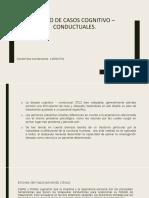 DISEÑO DE CASOS COGNITIVO – CONDUCTUALES.pptx