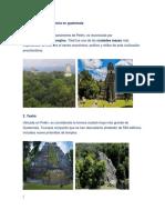 10 Sitios de La Prehistoria en Guatemala