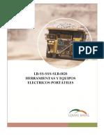LB-SS-SSS-SLB-0020 - Herramientas y Equipos Electricos Portatiles