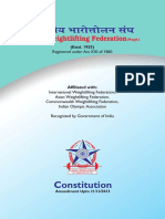 Constitution of Iwlf Amended Upto 21.12.2013