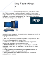 20 Interesting Facts About Computers