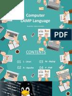 Computer LAMP Language